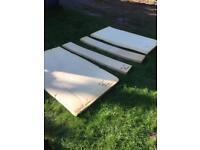 Sunncamp trailer tent foam bedding/ seating