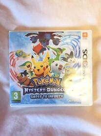 Pokemon Mystery Dungeon Gates to Infinity 3DS game