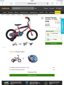 Ultimate Spider-Man Kids Bicycle from Halfords