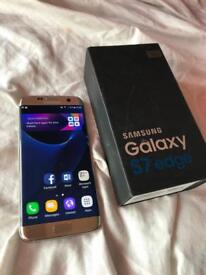 Samsung galaxy S7 edge unlock mint condition