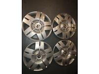 Renault wheel trims