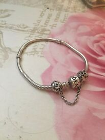 Pandora bracelet and safety charm