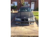 BMW E36 bonnet carbon wrapped