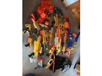 Nerf gun collection