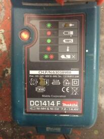 Makita battery charger and battery