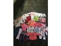 Bundle of baby girl clothing 3-6 months