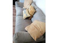 Grey 'Next' sofa