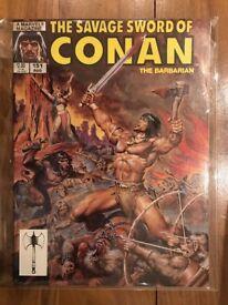 Savage Sword of Conan Issue 151
