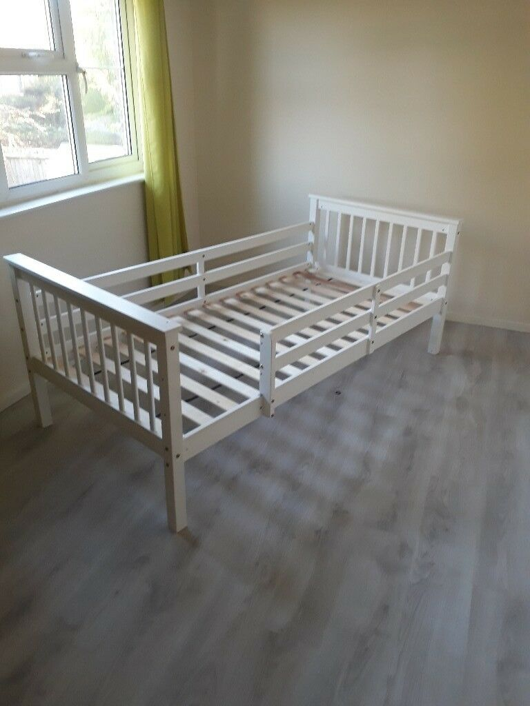 Child's single bed with side rails | in Woking, Surrey | Gumtree