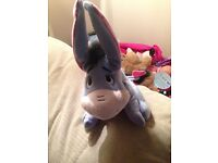 Talking and ear flapping eeyore