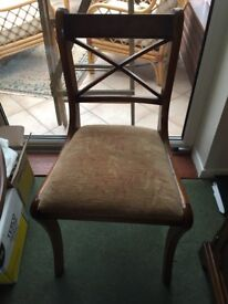 Yew vintage dining room furniture