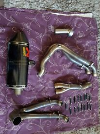 Honda 1000rr full akro exhaust