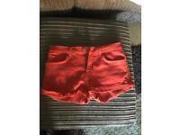 Zara denim shorts. Size 10