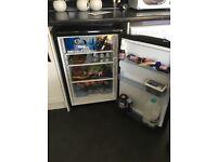 Black Lodik under counter fridge