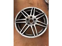"Audi 18"" alloy wheels 5x112 sline"