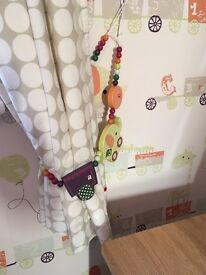Mamas and papas nursery curtains. Blanket and cot bumper. From smoke and pet free home.