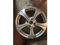 "BRAND NEW 5 spoke Alloy wheels 17"" inch Citroen AX BX Berlingo C2 C3 Picasso C4 C5 DS3 alloys wheel"