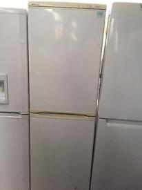 BEKO white good looking frost free A-class fridge freezer cheap bargain
