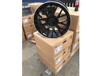 "4 18"" alloy wheels alloys rims tyre tyres vw Volkswagen seat Skoda audi mercedes 112"