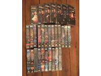 Job Lot Collection of STAR TREK TNG & Voyager VHS Video Tapes