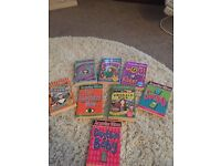 Jacqueline Wilson books - 8 assorted