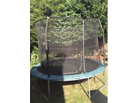 Trampoline 10ft with enclosure -dismantled