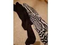 2 scarves for sale