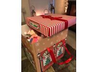 Giant vegan friendly Christmas pamper hamper gift present