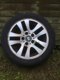BMW alloy 17inch with tyre
