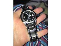 Men's citizens eco drive titanium watch