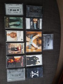 Cassette tapes to include madonna, michael jackson and bryan adams