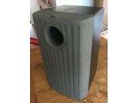 Gale Sub-5 Subwoofer speaker, Ideal for those xmas films, in dark grey & black