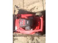 MTD self propelled / rear roller petrol lawnmower
