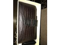 Piel Frama Brown Crocodile iPhone 6 Plus Case - Mint condition - Cow Leather - RRP £70