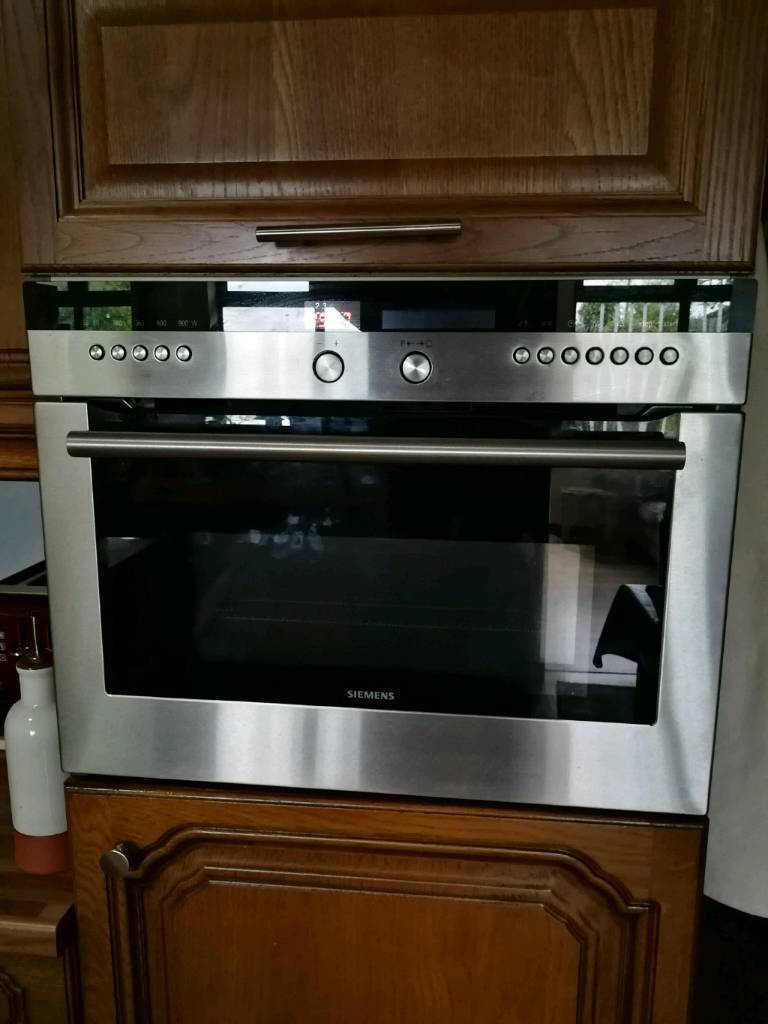 Siemens Integrated Oven With Microwave