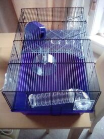 Pets At Home Hamster Wire Cage - Large - Purple - As New