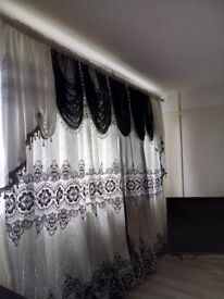 New elegant curtains (non refundable)