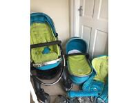 ICandy Peach pram and carry cot