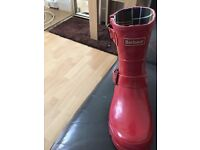 Real Barbour wellies