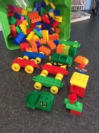 Box of lego duplo