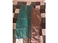 Garden green salwar / Indian wear