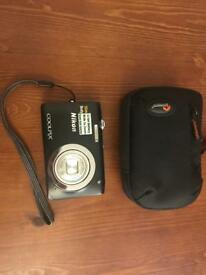 Nikon Coolpix S2600 black camera