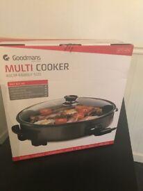 Unused Goodmans multi cooker 40cm