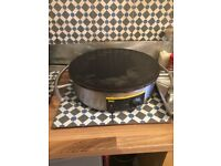 Crepe Machine fron Nisbetts - a couple of months old with some accessories