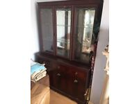 Rosewood display cabinet - open to offers!!!