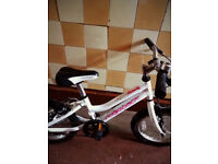 "Girls Ridgeback Melody bike 16"" - as new"