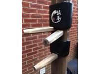Self standing Wooden dummy wing chun