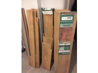 Floormaster Oak Laminate Flooring - Used