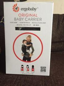 Ergo baby carrier