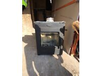 Log burner never used